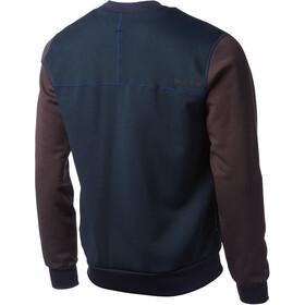 Houdini M's Baseball Jacket Beyond Blue/Backbeat Brown